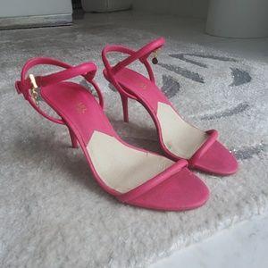 Hot pink Michael Kors shoes